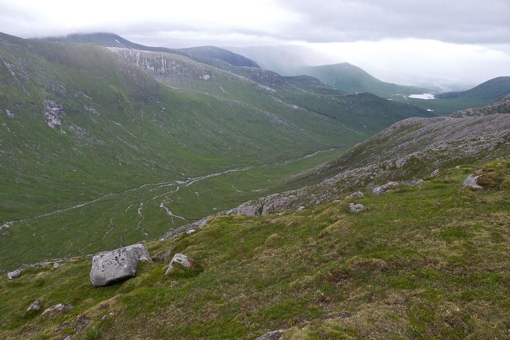 Coire na Caime from Beinn nan Aighenan