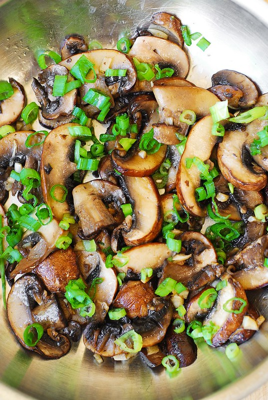 gluten free mushroom recipes, paleo mushroom recipes, garlic recipes