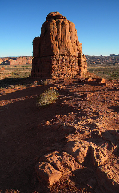 View from La Sal Viewpoint in Arches National Park