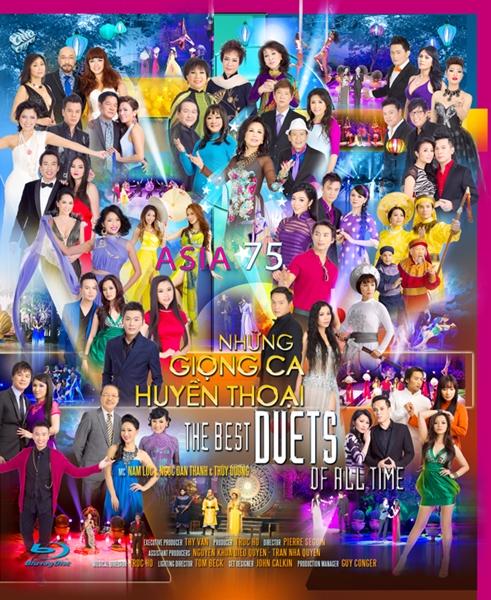 Asia 75 - Những Giọng Ca Huyền Thoại 2 DVD5/DVD9