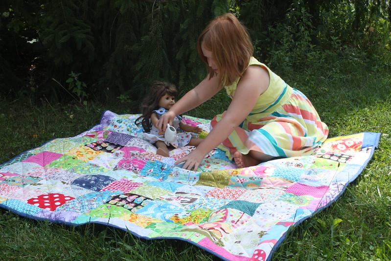 Patchwork Picnic Quilt