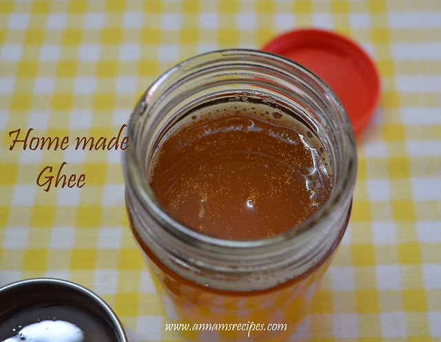 Home Made Ghee