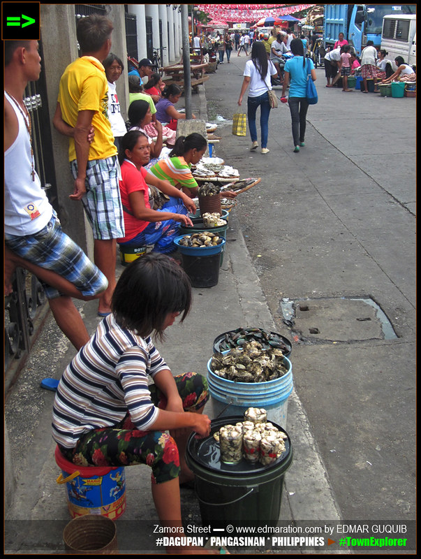 Street Vendors in Dagupan City