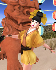 Hair Fair - When Hair Becomes Art (New Post @ Second Life Fashion Addict)