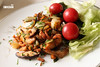 Salmon Stir-fry with Shiitake Mushroom