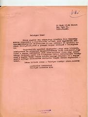 077. Bakách-Bessenyey György levelei Habsburg Ottónak, Ottó főherceg és Regina hercegnő küszöbön álló házasságkötése kapcsán