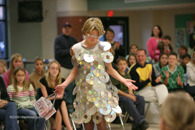 trash fashion show