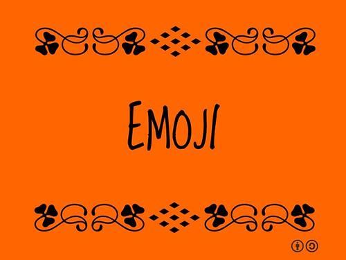 Buzzword Bingo: Emoji