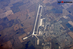 USAF Minot Air Force Base with B-52's - From My Window Seat on British Airways Boeing 777 G-VIIT - 131012 - USA 2013 - Steven Gray - CIMG3945