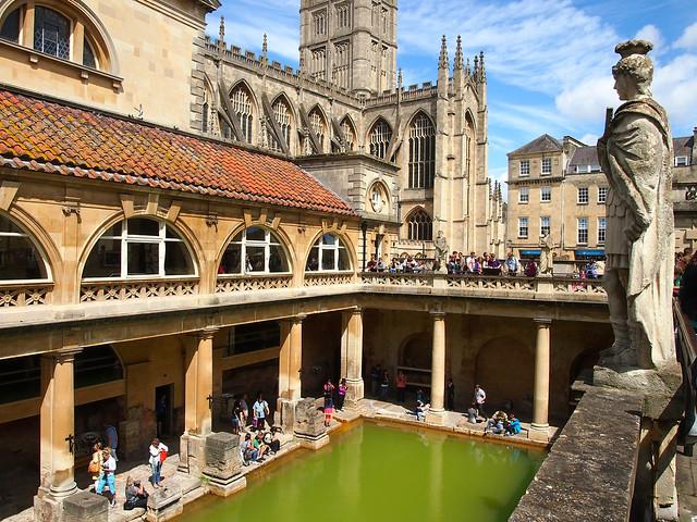 Римские бани в Бате, Англия loverme