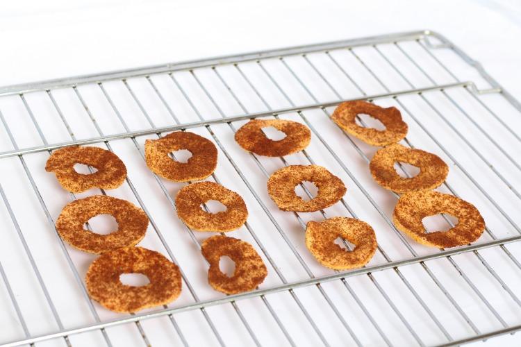 Opskrift: Tørret æbler med kanel