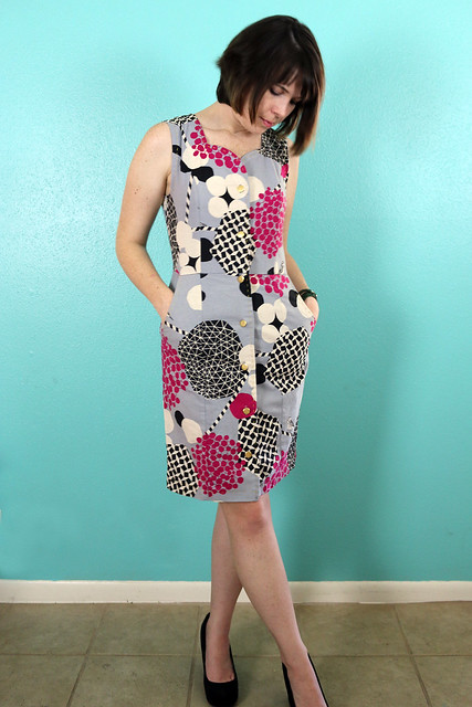 Lea Dress from Jolie Marie Louise Patterns