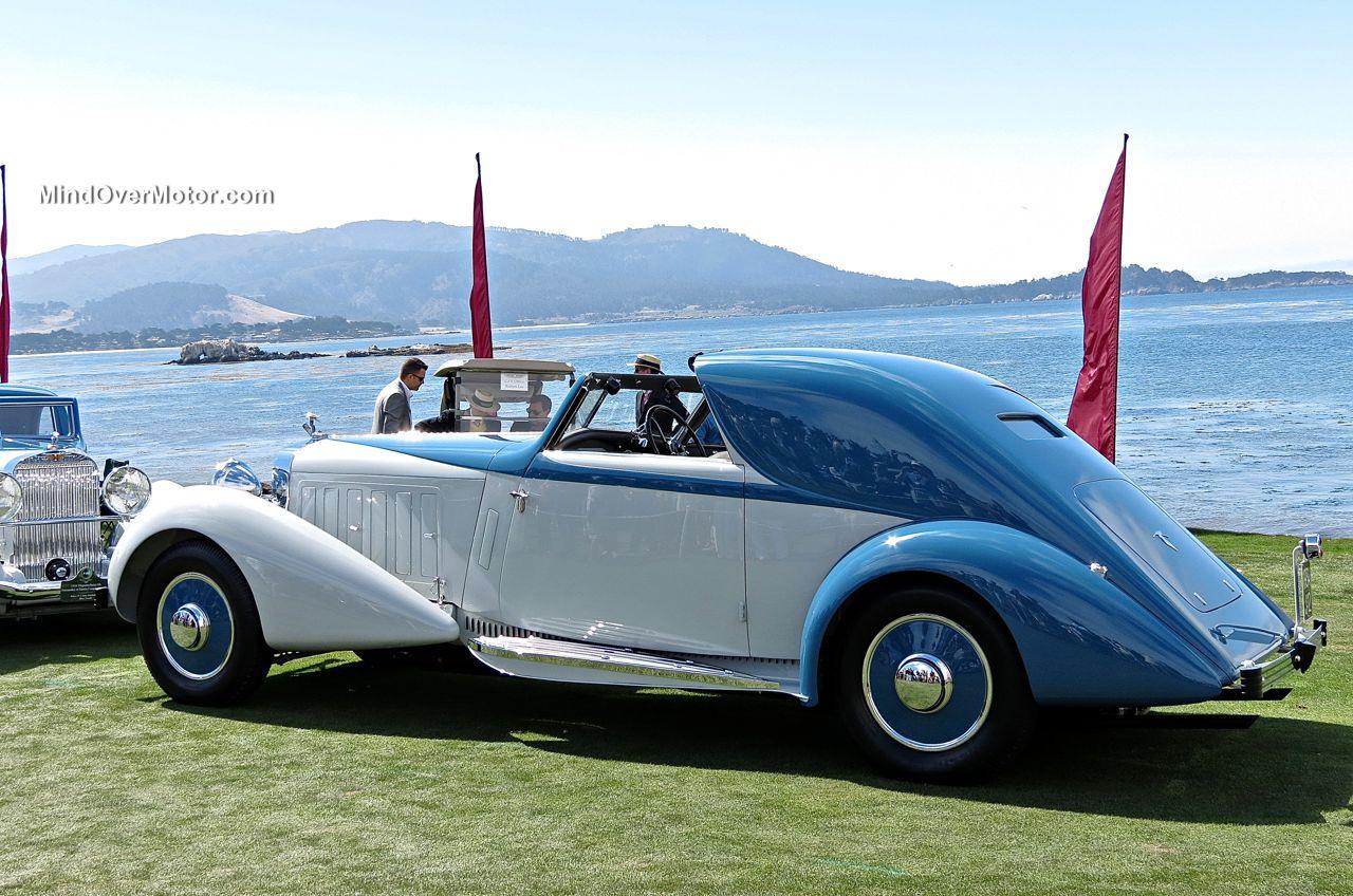 Pebble Beach 2014-1934 Hispano-Suiza J12 Coupe de Ville