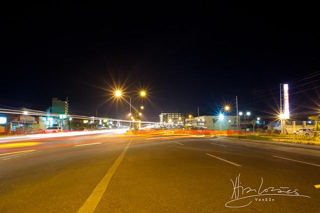 VanS3n-08032014- Long Exposure - Diversion Road, Iloilo City -0001