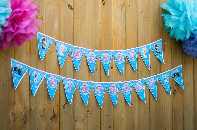 frozen birthday party DIYs and decor