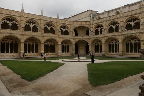 Mosteiro do Jeronimos: il chiostro