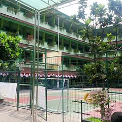 Sudut lain gedung SMAN 54 Jakarta.