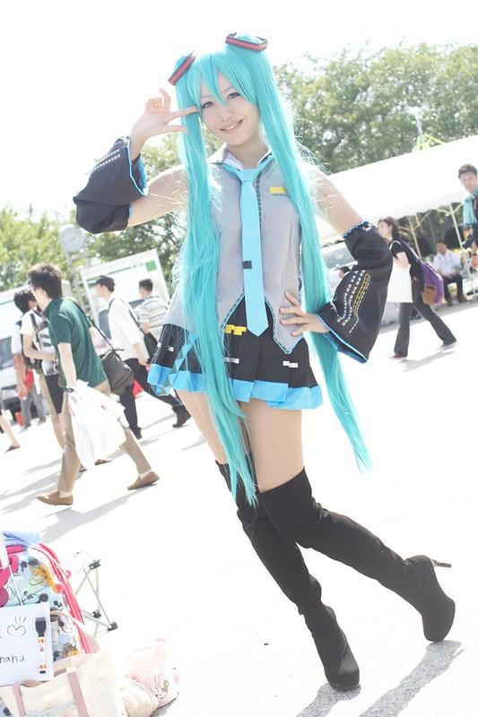 Hatsune Miku -comic market 86 cosplay-