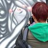 @monoprixx in action at @sclaterstreetstalls worth work from @vanesalongchamp #Streetart #streetartlondon