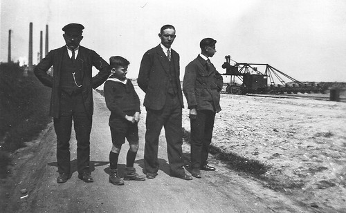 Am Tagebau Regis-Breitingen,1935