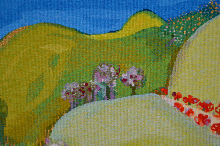 'Point Addis' tapestry detail