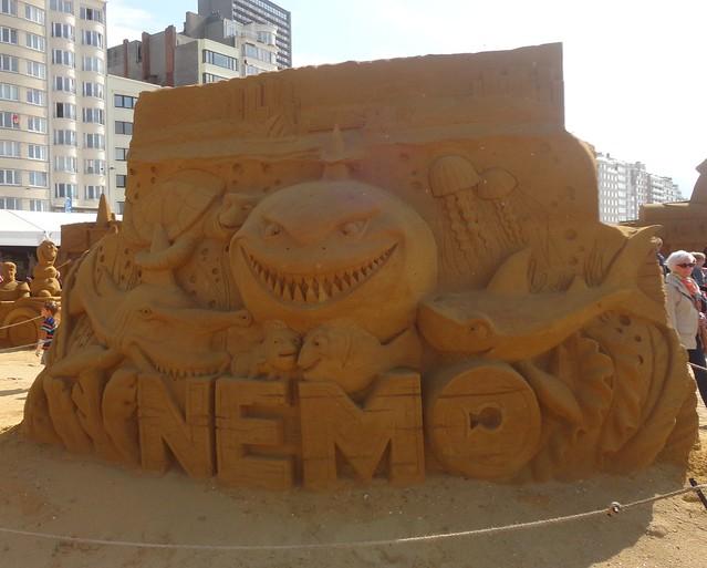 Sculpures sur sable Disney - News Touquet p.1 ! 14934015266_8842ddbe46_z