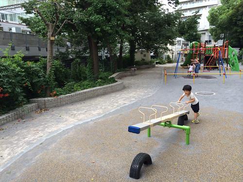 とらちゃんと目黒銀座児童遊園