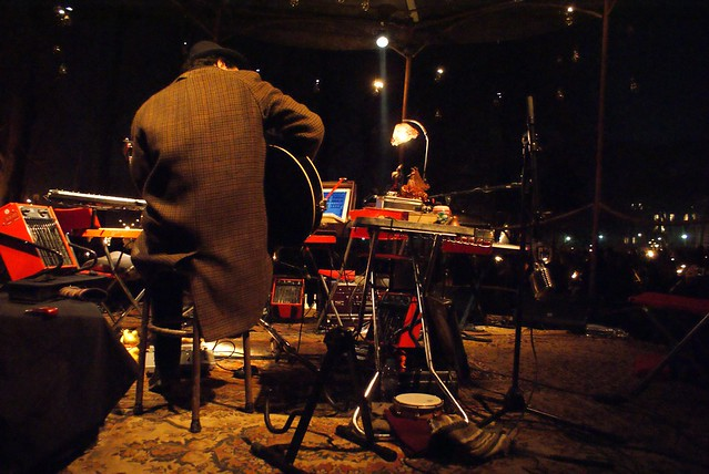 Concert lors de la fête des Lumières à Lyon