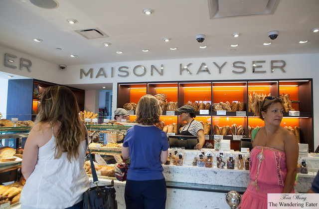 Maison Kayser's take out/retail section