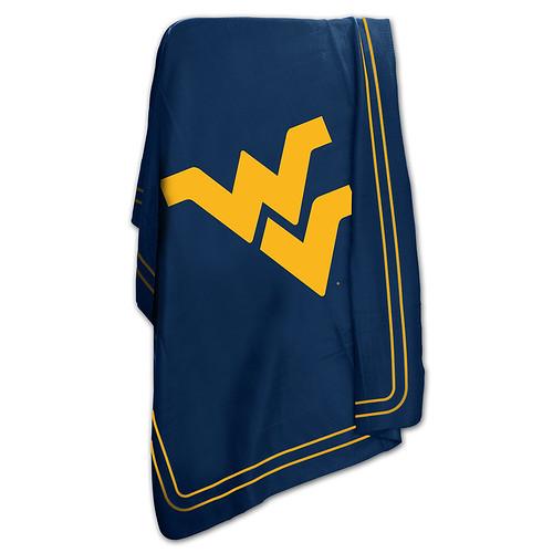 West Virginia Mountaineers NCAA Classic Fleece Throw