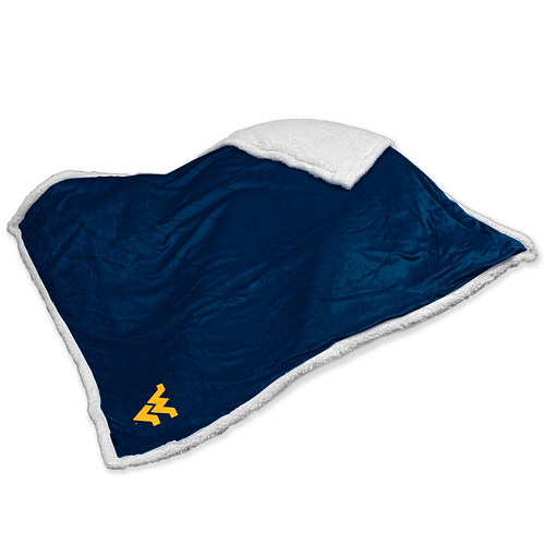 West Virginia Mountaineers NCAA Sherpa Blanket