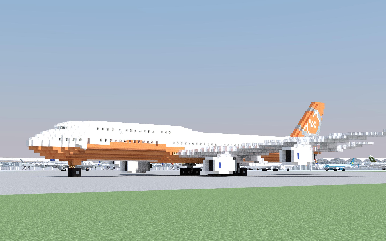 Minecraft boeing 747-8i youtube.