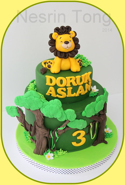 little lion cake - doruk aslan