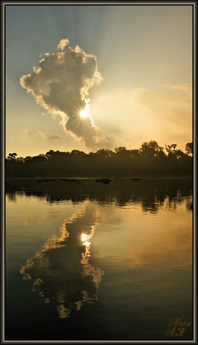 sun reflection nature clouds sunrise scenery texas sony scenic bayou sunburst pasadena canoeing paddling clearlakecity a700 armandbayou sonya700 wanam3