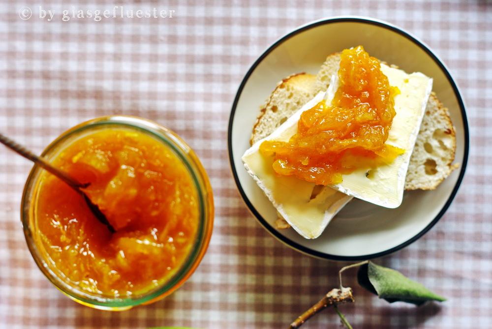 Kürbis-Birnen-Karotten Marmelade by Glasgeflüster 3 klein
