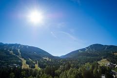 Beautiful fall weather in Whistler