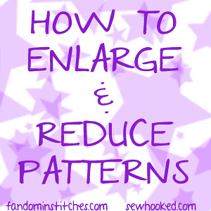 How to Enlarge & Reduce Patterns using Adobe Reader
