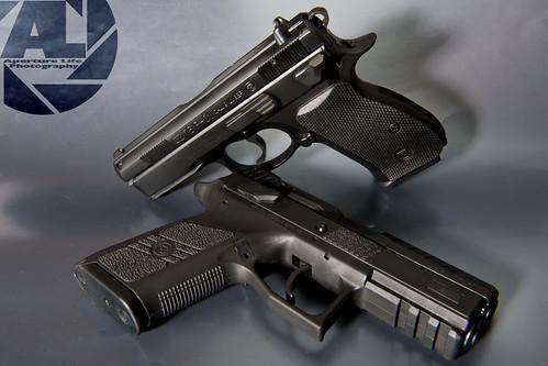 CZ P-01 and CZ P-07