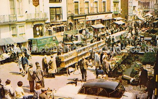 Louth Wednesday Market (1950´s)