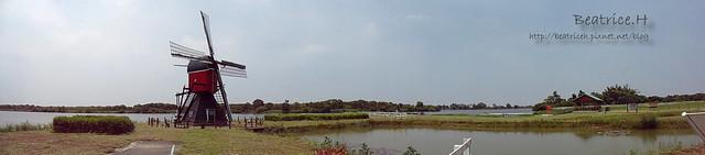 荷蘭村。全景