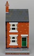 Lego British Victorian Terraced House