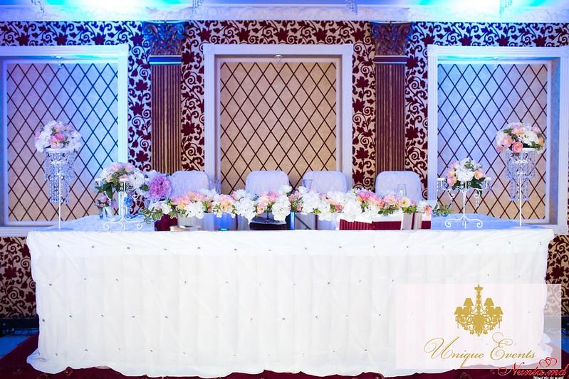 Unique Events: decorațiuni pentru nuntă > Foto din galeria `Nuntă în stil regal`