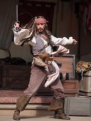 Pirates Of The Caribbean Magic Kingdom Captain Jack Sparrow Disney at Pirates of the Caribbean