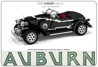 Auburn TWELVE Boattail Speedster - 1932