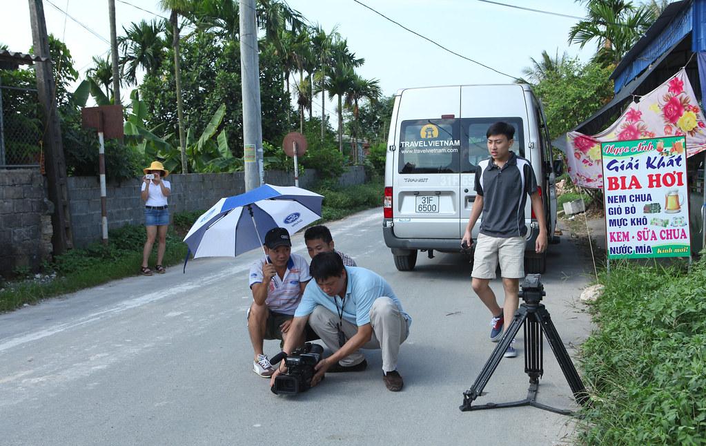 Một cảnh quay đầu làng