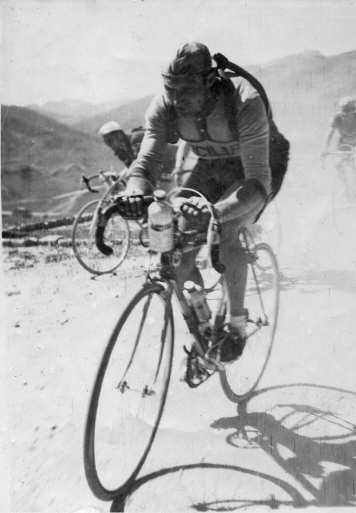 Giro di Sicilia 1953 - vittoria di Aldo nella 1a tappa