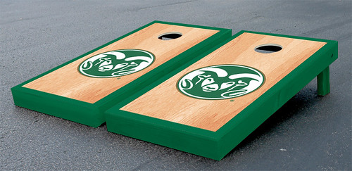 Colorado State University Rams Cornhole Game Set Hardcourt Version