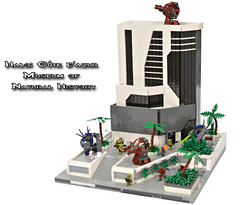 Lego Halo: Cote d'Azur Museum of Natural History