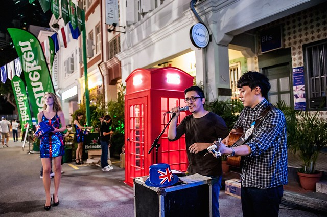 13) Heineken Cities Festival - London - Buskers