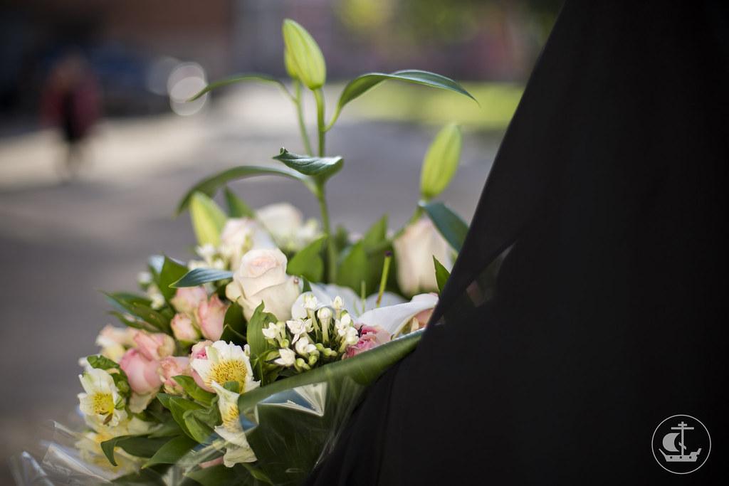 6 сентября 2014, Литургия в Воскресенком Новодевичьем монастыре / 6 September 2014, Divine Liturgy at Novodevichy monastery of Resurrection